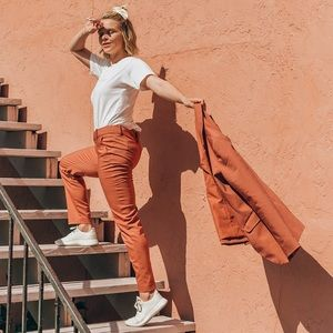 A New Day Blush Ankle Pants